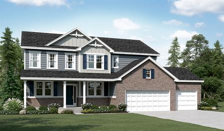 Exterior D of the Daniela floor plan in the Sunset Pointe community