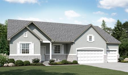 Exterior A of the Helena floor plan in the Sunset Pointe community