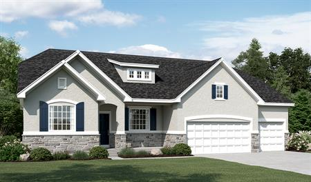 Exterior B of the Helena floor plan in the Sunset Pointe community