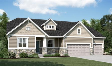 Exterior C of the Helena floor plan in the Sunset Pointe community