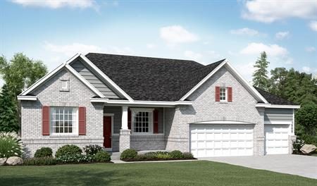 Exterior D of the Helena floor plan in the Sunset Pointe community