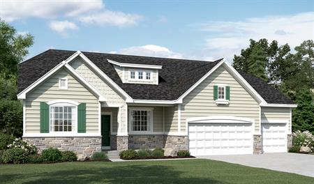 Exterior E of the Helena floor plan in the Sunset Pointe community