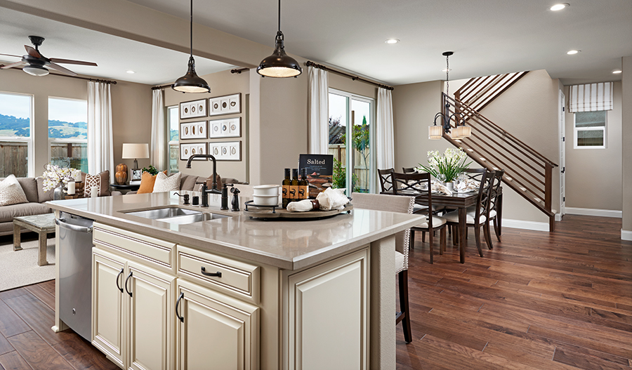 Kitchen of the Stewart floor plan