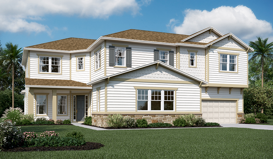 Exterior L of the Heidi floor plan