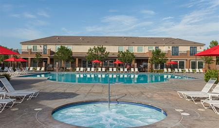 Community pool at Heirloom at the Preserve