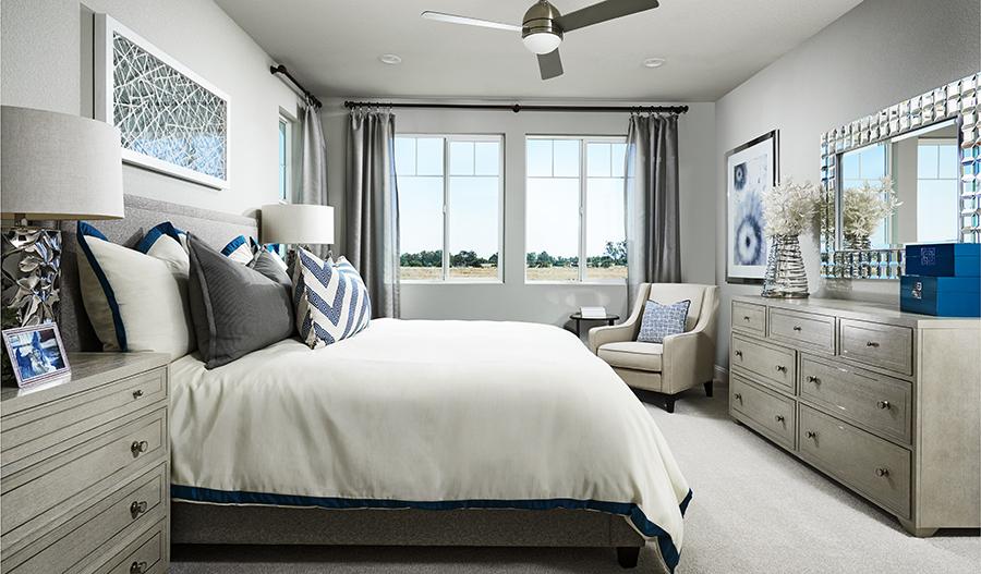 Master bedroom of the Lynn floor plan