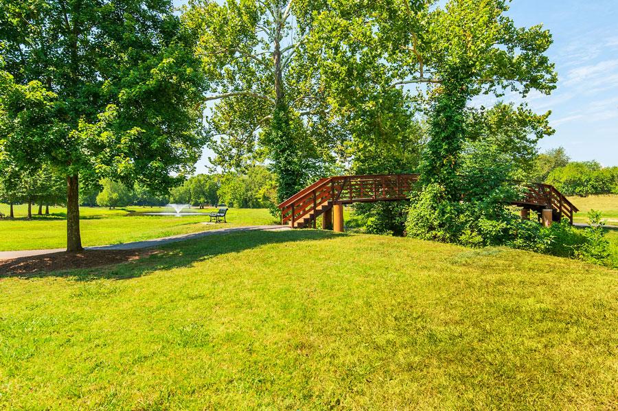 Park at Mountain Brook Estates in Northern Virginia