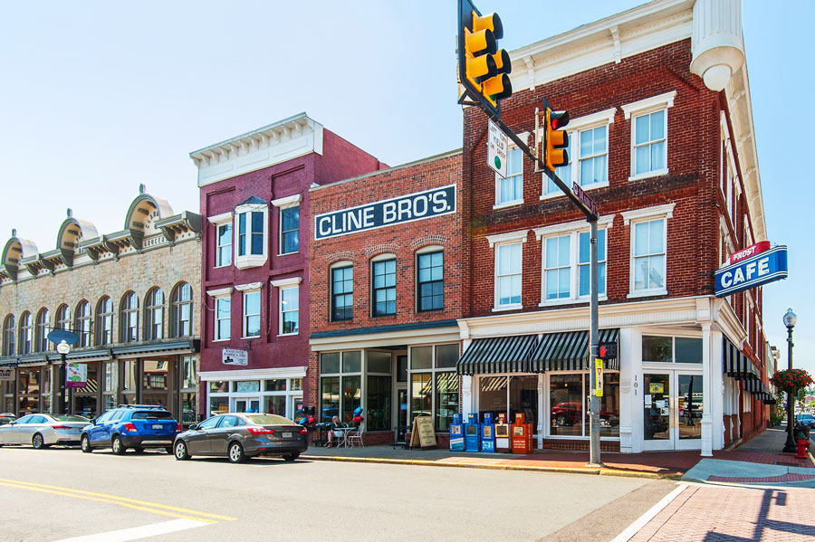 Town of Culpeper in Northern Virginia