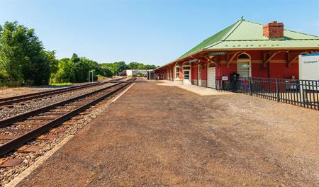 Train station in Culpeper Northern Virginia