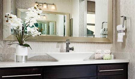 Master bathroom of the Sandoval floor plan