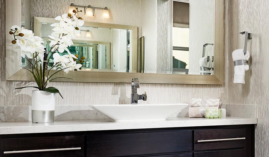 Owner's bathroom of the Sandoval floor plan