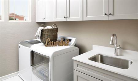 Laundry room of the Bradford floor plan