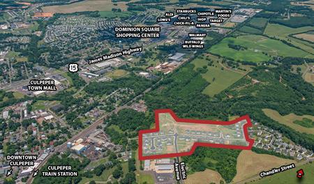 Mountain Brook Estates Aerial Map