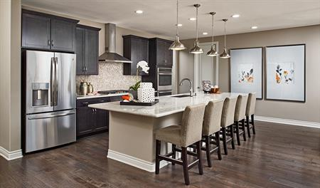 Kitchen in the Julia floor plan