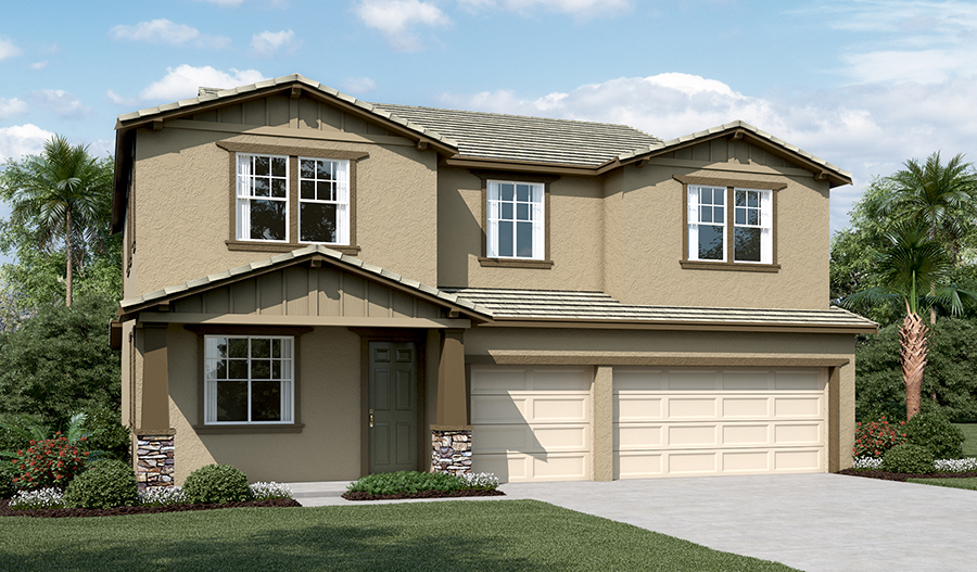 Exterior C of the Teagan floor plan
