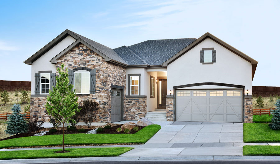 Exterior of the Daniel floor plan
