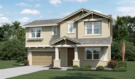 Exterior C of the Aurora floor plan