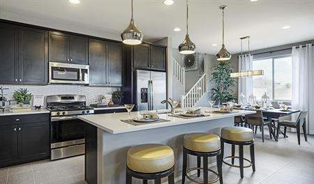 Kitchen of the Topaz floor plan