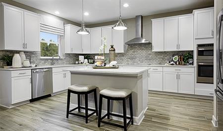 Kitchen in the Piermont floor plan