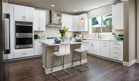 Kitchen of the Jefferson floor plan