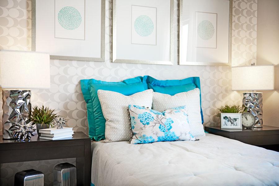 Bedroom in the Arabelle floor plan
