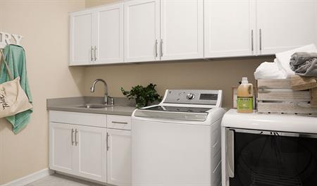 Laundry room in the Stephen floor plan