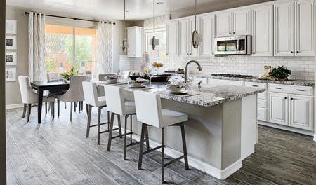 Kitchen in the Desiree floor plan