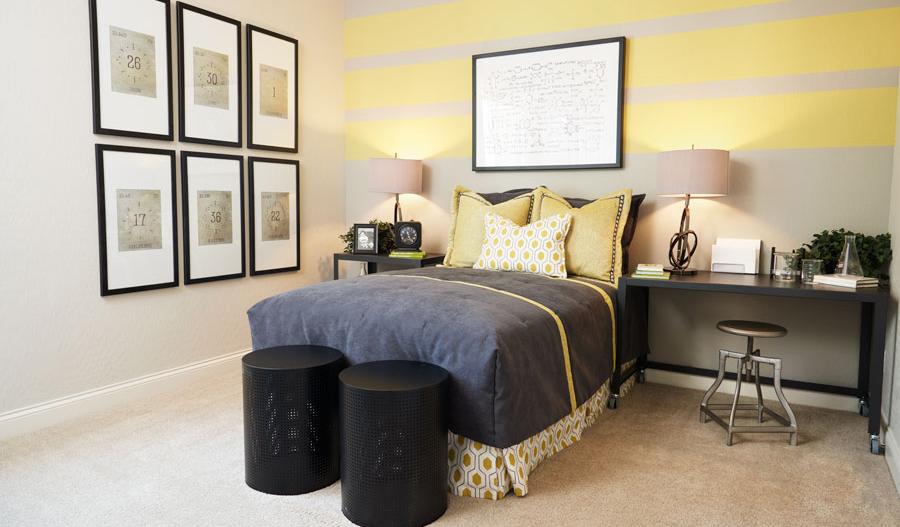 Bedroom in the Paige floor plan