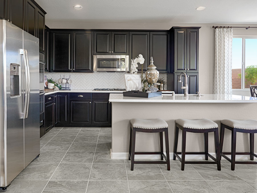 Kitchen in the Boxwood floor plan