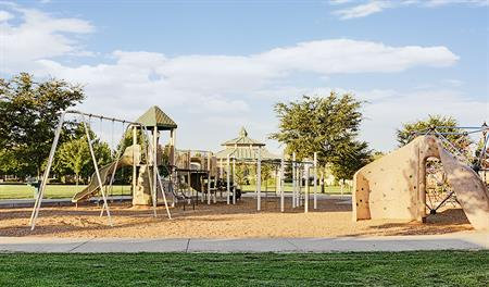 Community park in the Orchards at Valley Glen community