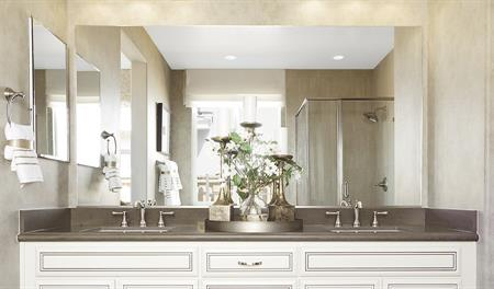 Master bath in the Timothy floor plan