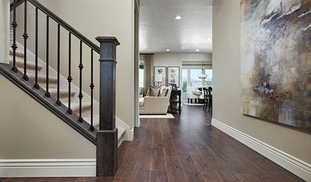 Entry way in the Coronado floor plan