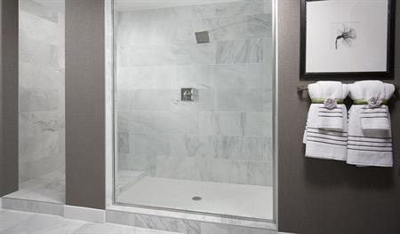 Shower in the Daley floor plan