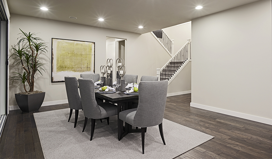 Dining room of the Daley floor plan