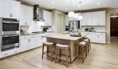Kitchen of the Augusta floor plan