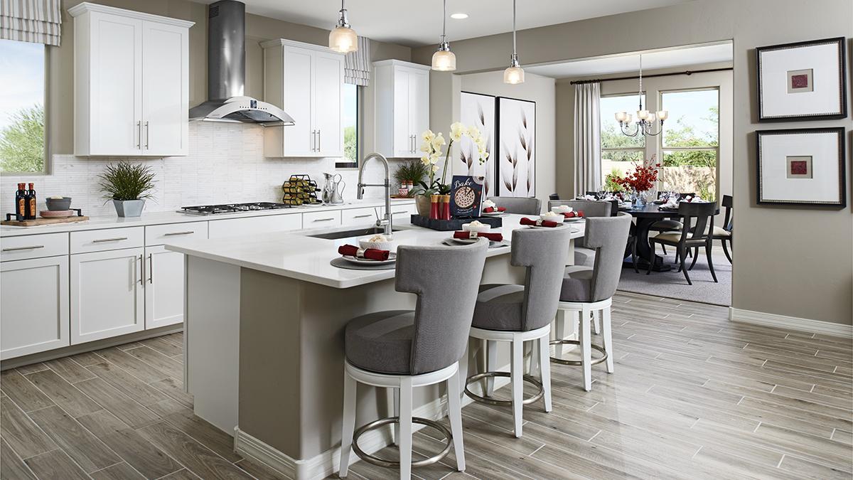 Kitchen of the Hopewell floor plan
