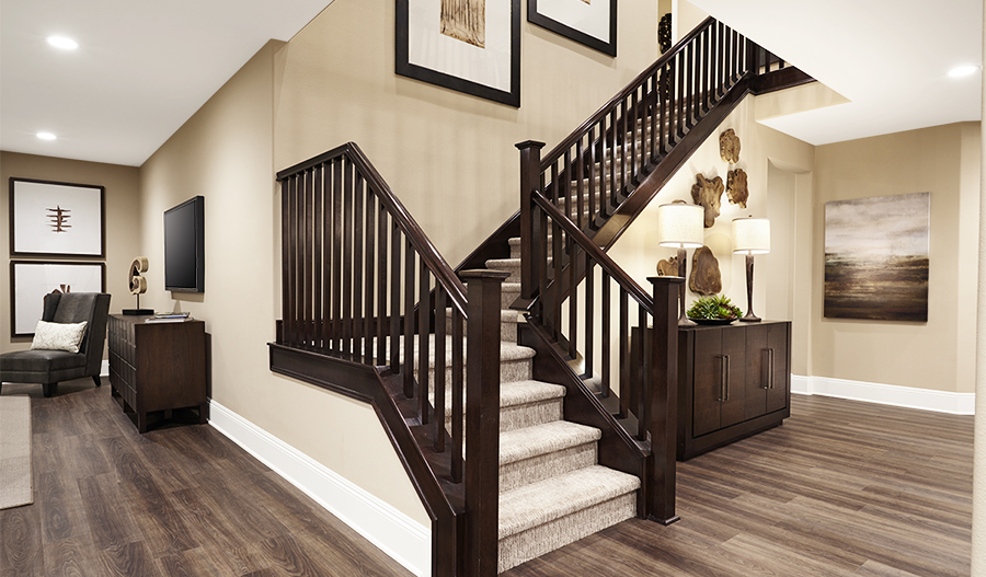 Stairs in the Seth floor plan