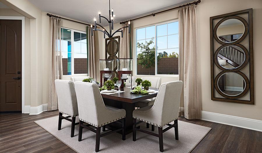 Dining room of the Seth floor plan