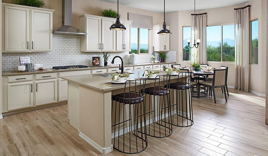 Kitchen of the Delaney floor plan