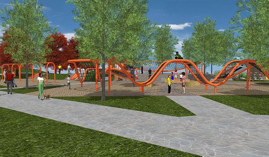 Playground near Estates at Eastmark