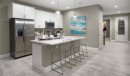 Kitchen of the Moonstone floor plan
