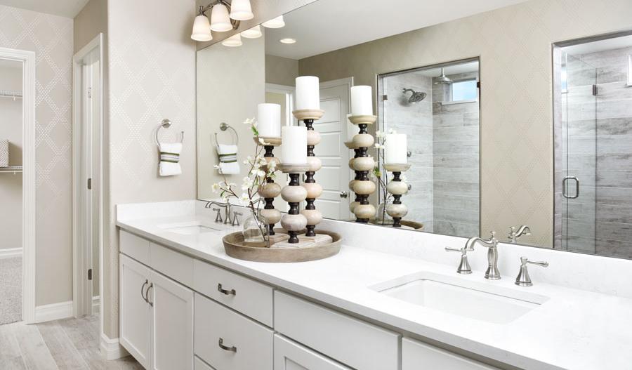 Owner's bath in Coronado floor plan