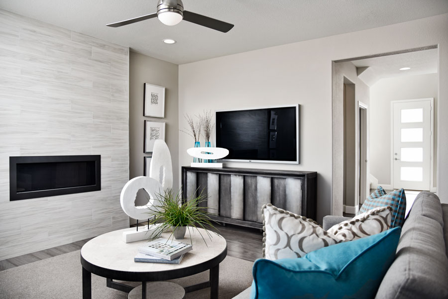Greatroom in Fallon floor plan