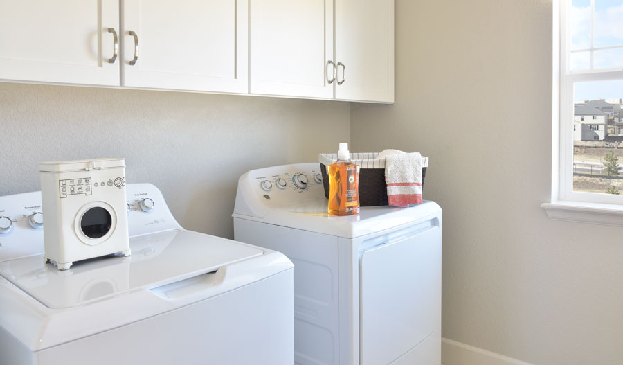 Laundry room of the Seth floor plan