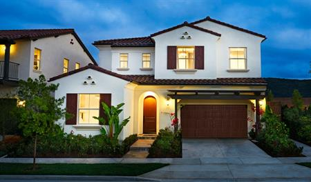 Exterior of the Sebastian floor plan in Southern California