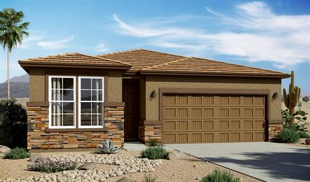Exterior C of the Sunstone floor plan