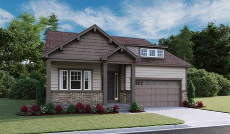 Exterior A of the Alamosa floor plan