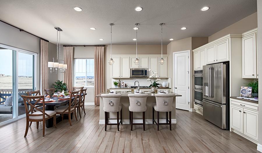 Kitchen of the Dearborn floor plan