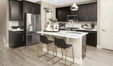 Kitchen of the Norah floor plan
