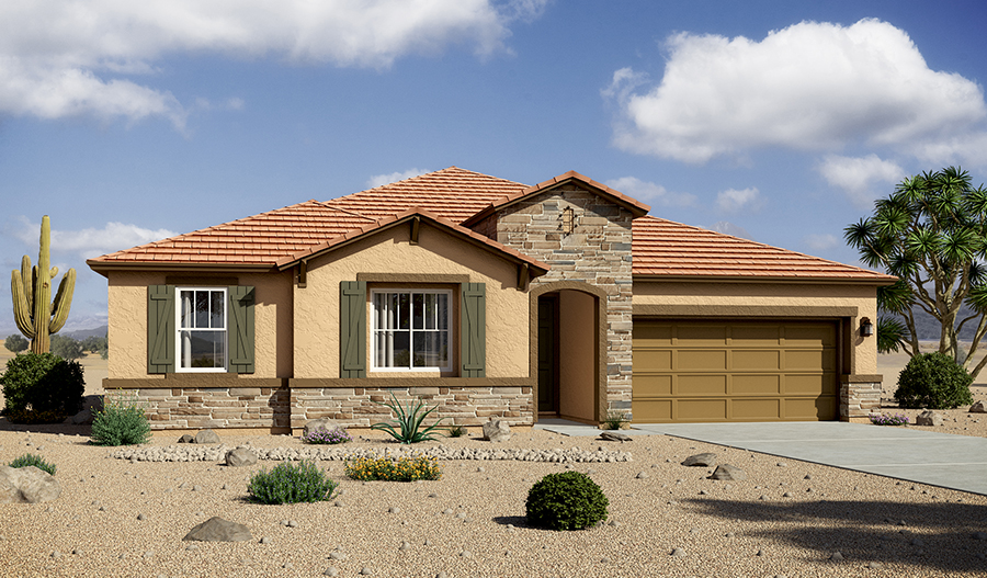 Delaney floor plan Exterior rendering